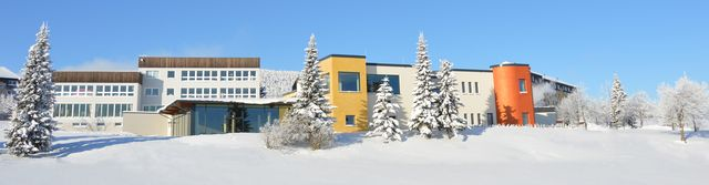 Das Elldus Resort im Winter